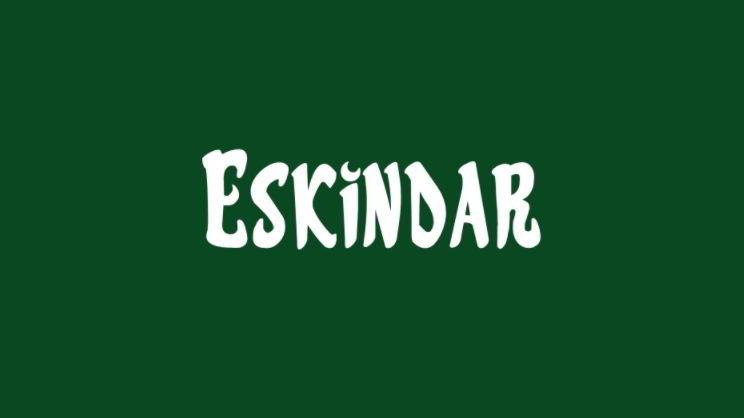 Download Eskindar font